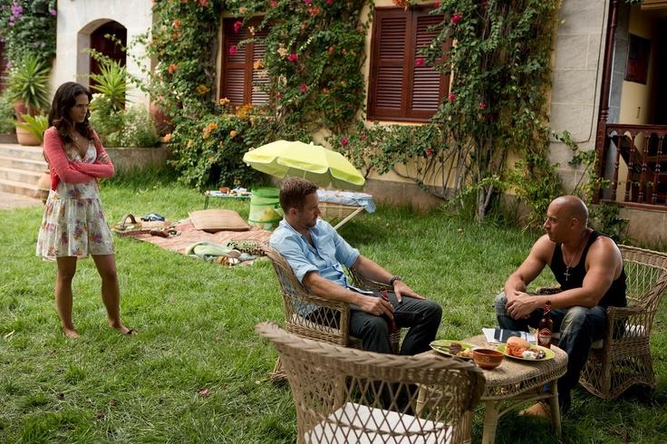 Paul Walker, Vin Diesel y Jordana Brewster - Brian O'Conner, Dominic Toretto y Mia Toretto