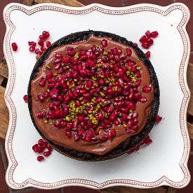 Vegan Dark Chocolate Pomegranate Mousse Recipes — Dishmaps