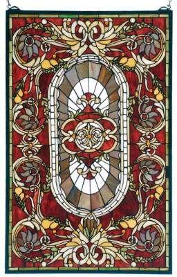 Vanderbilt leaded glass panel