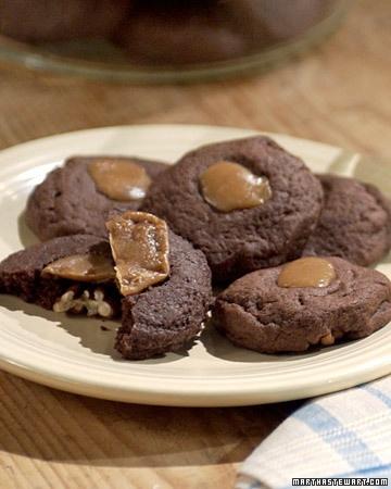 Chocolate-Caramel Surprise - Martha Stewart Recipes