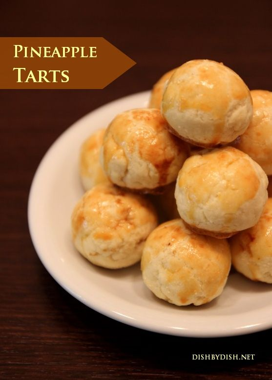 Pineapple Tarts | Favorite Recipes | Pinterest