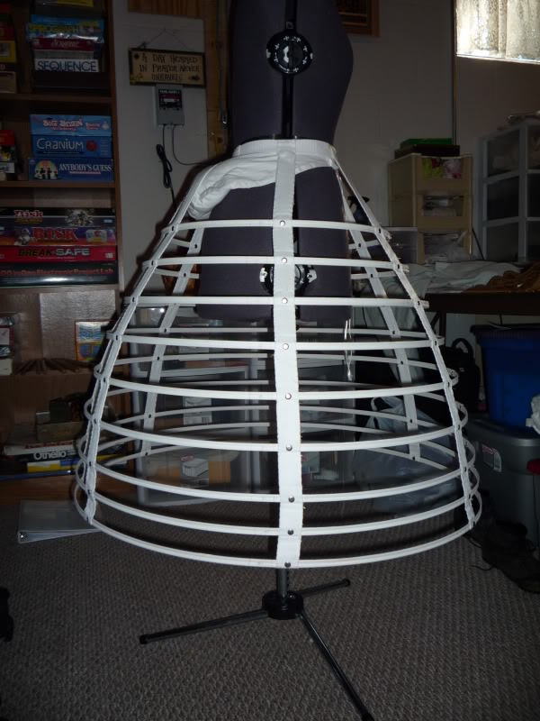 Cage Crinoline. I'm thankful women are no longer expected to wear ...
