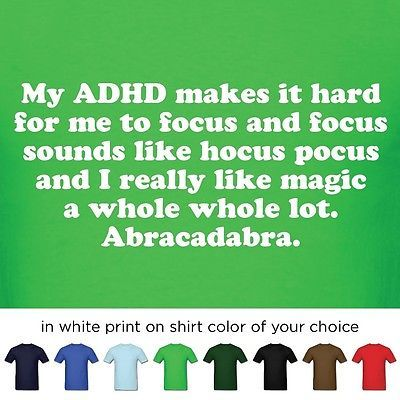 Pin by Johnny Jomadado on ADD / ADHD Attention Deficit