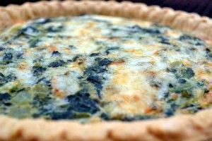 Spinach Quiche | Recipe