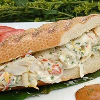 Crab salad pannini | recipes | Pinterest