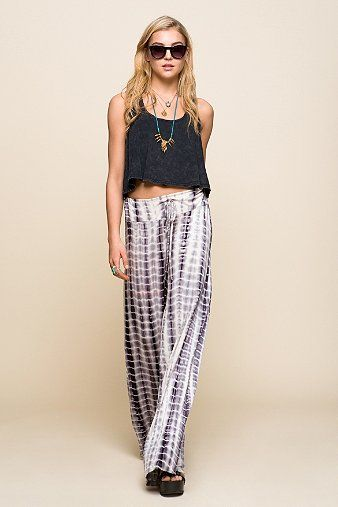 Staring At Stars Tie-Dye Wide-Leg Pant