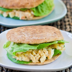 Easy and Healthy Egg Salad Sandwich | I LOVE FOOD | Pinterest