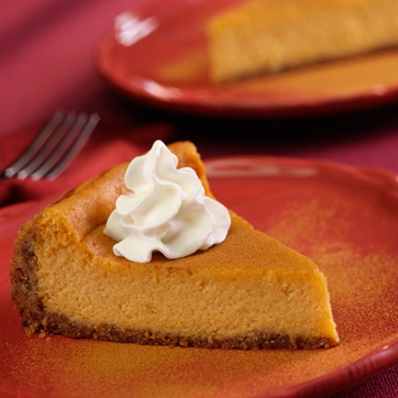 Cinnamon-Pumpkin Cheesecake | Food: Let them eat cake & cheesecake to ...