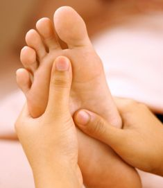 It is very important to massage the feet, the bottom of the feet hit you whole body...Used in Reflexology...