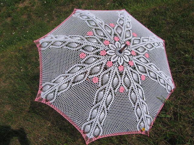 Crochet Umbrella : crocheted umbrella Crochet Pinterest