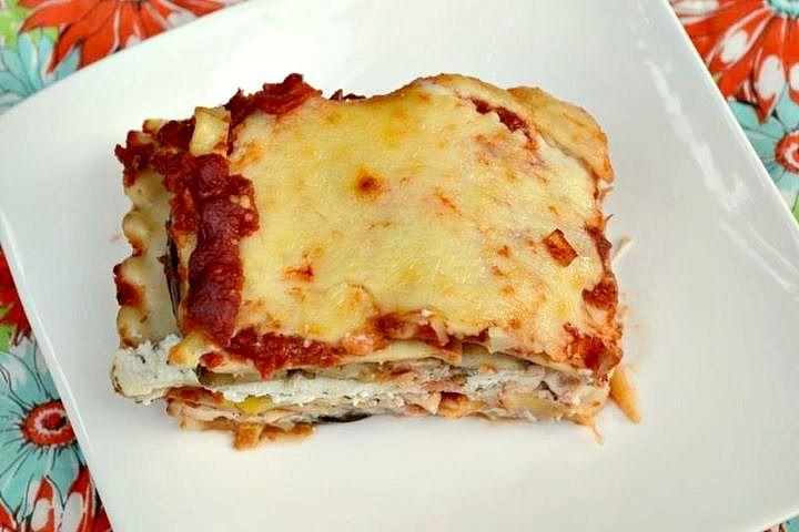 Eggplant-Zucchini Lasagna With Fontina Recipes — Dishmaps