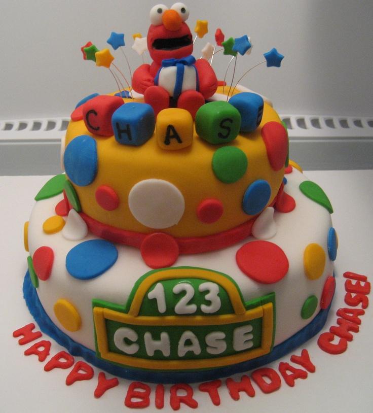 Original Elmo cake design by Three Chicks Bakery.   ToO cUtE ...