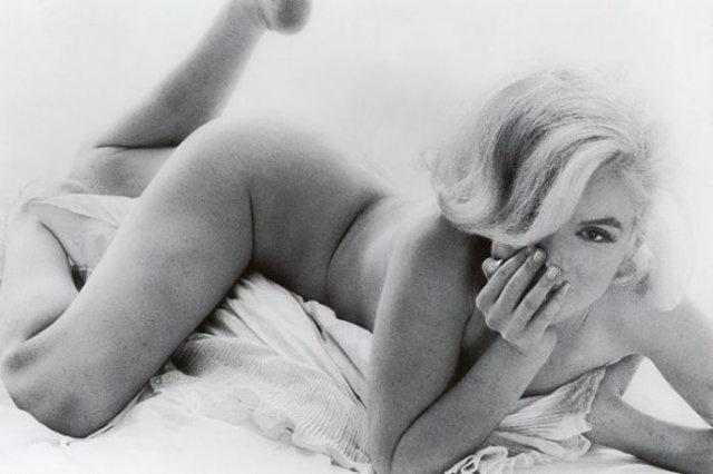 Marilyn Monroe, the last sitting