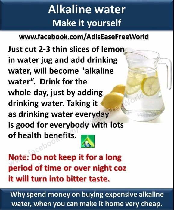 amazing health benefits alkaline water