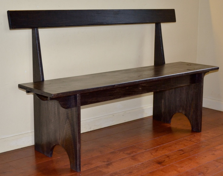 shaker style bench beauty and function combined