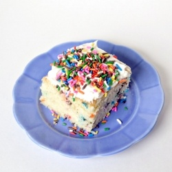 Funfetti Cake from Scratch- Use lactose free milk, and not sure what ...