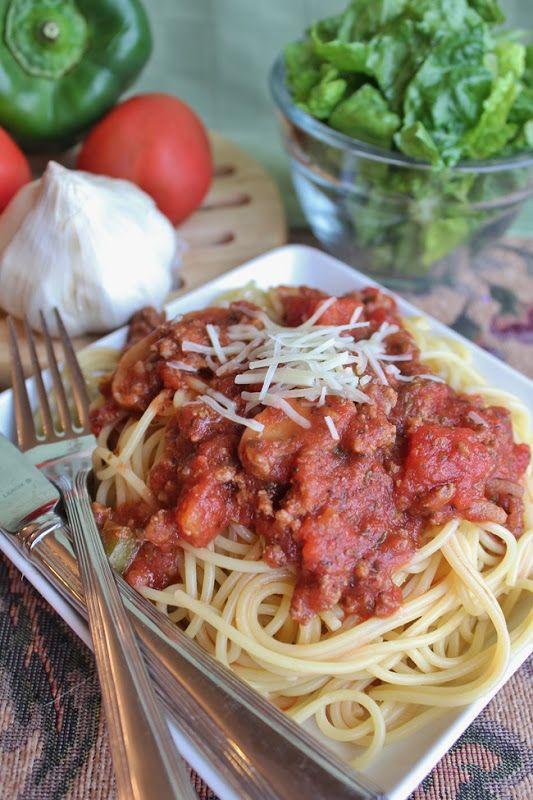 Slow Cooker Spaghetti Sauce - Joyful Momma's Kitchen - This was so ...