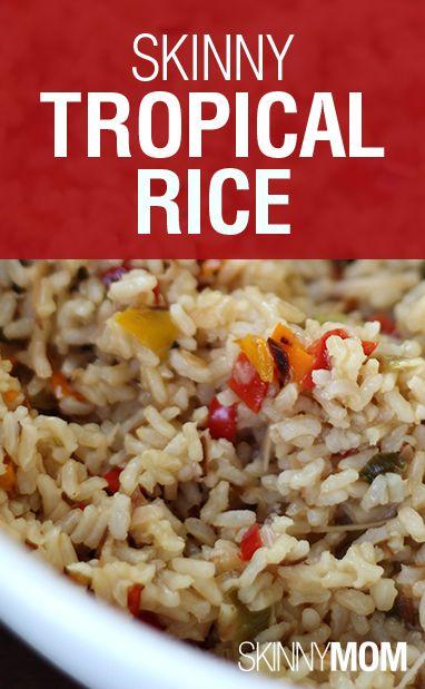 Skinny Tropical Rice | Recipe