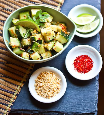 ... this Cool Spicy Cucumbers with Peanuts & Lime |familystylefood|recipe