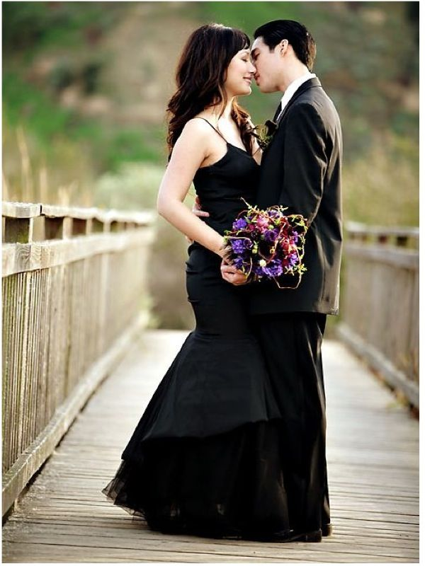 Black Wedding Gown Just Because It 39 S Not White Doesn 39 T Mean It 39