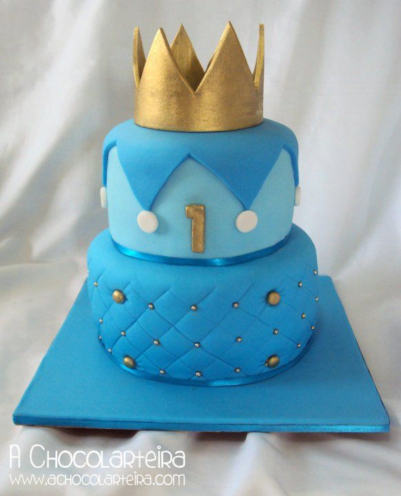 Cake With Crown For Boy : cake crown boy Party Pinterest