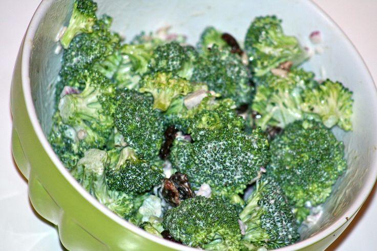 broccoli crunch salad | Salad | Pinterest