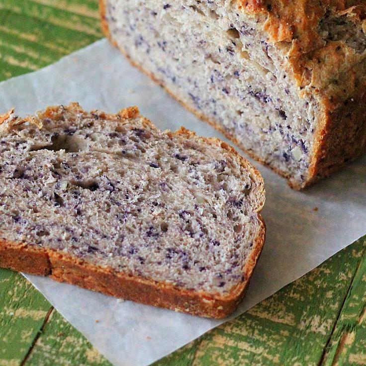 Blueberry Almond Yeast Bread