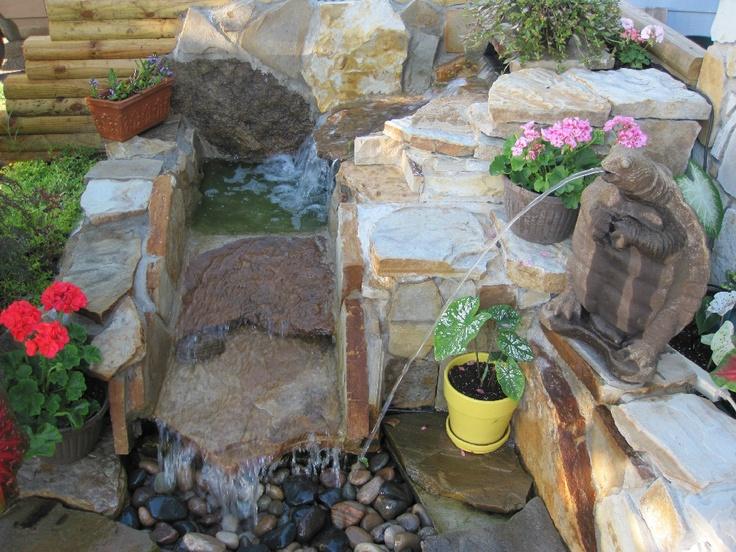 Diy Pondless Waterfall Landscaping Yard Ideas Pinterest