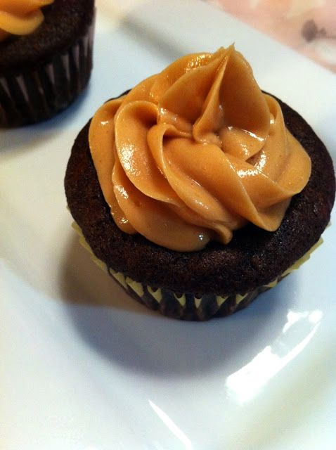 Everyday Desserts: Chocolate Banana + Peanut Butter Cupcakes