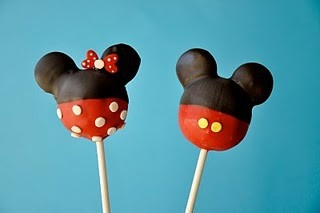 Art minnie and mickey cake-popsMickey And Minnie Cake Pops Instructions