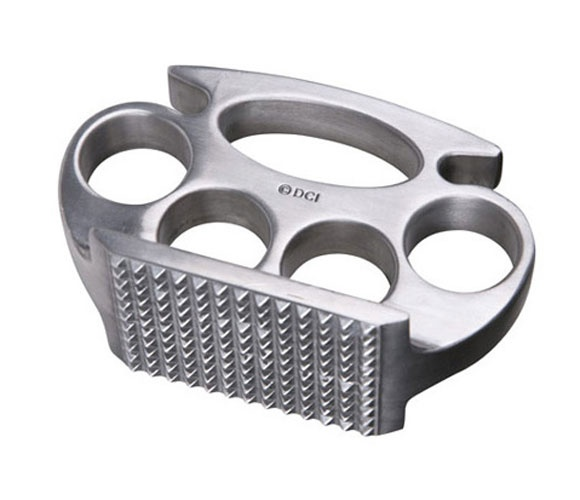 Brass Knuckle Meat Tenderizer / Uncovet