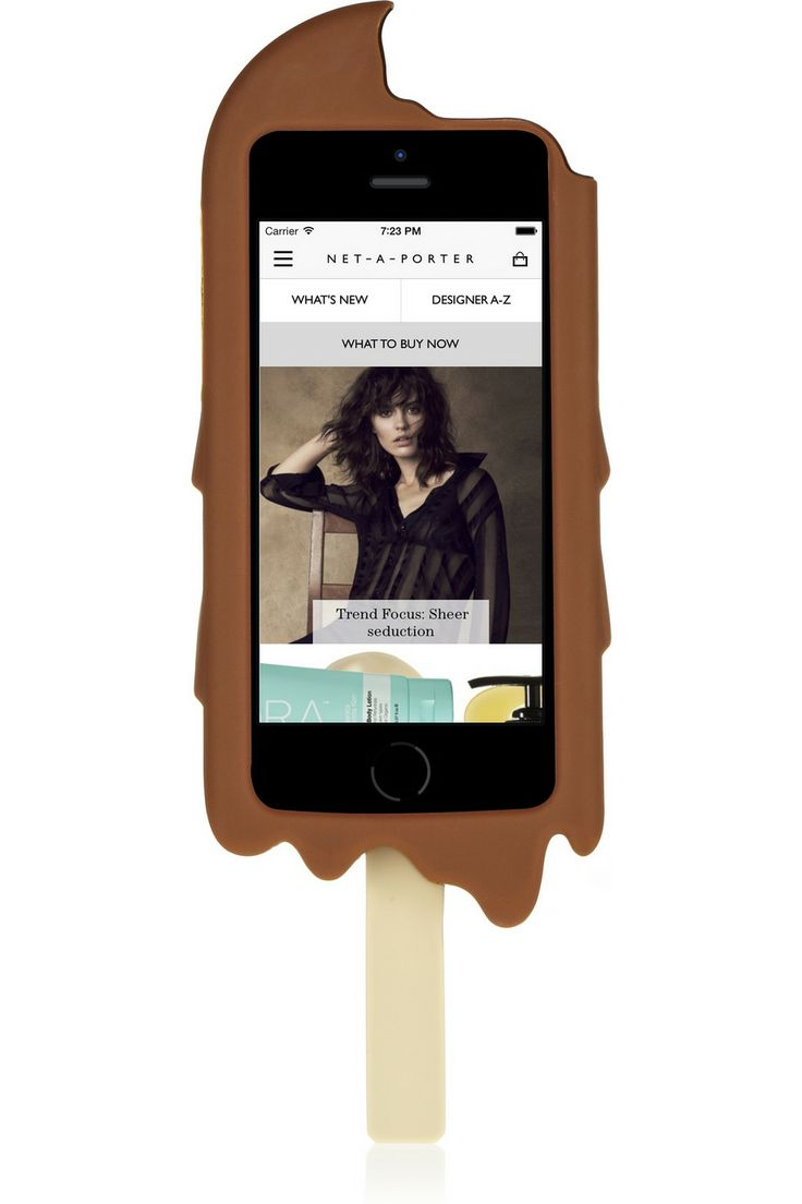 ... | Chocolate Ice Cream silicone iPhone 5 cover | NET-A-PORTER.COM
