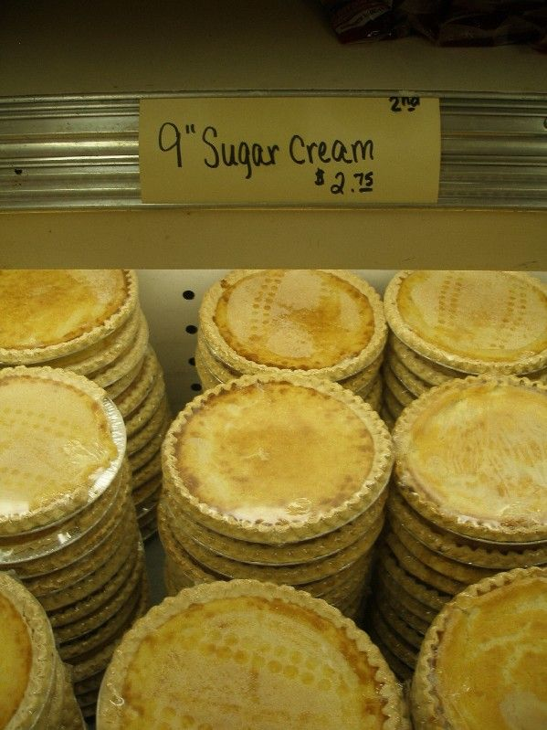 Sugar Cream Pie recipe - Sugar cream pies friggin rock!