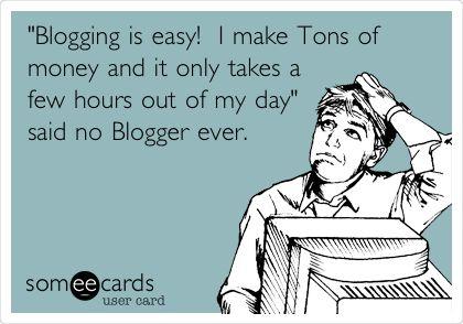 Easy blogging money