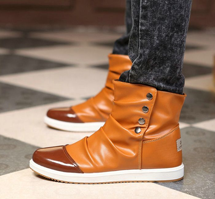 Ugh why do these look so good fashion men s boots with rivets and