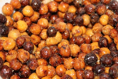 Sweet and salty roasted chickpeas | iMake2 | Pinterest