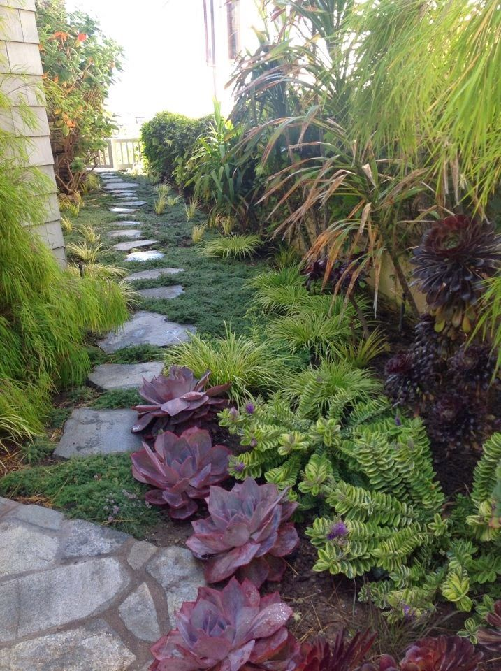 Pretty Side Yard Garden Landscaping Ideas Pinterest