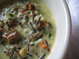 ... Vegetarian Kitchen: Wild Rice Chowder with Fresh Coconut and Mushrooms
