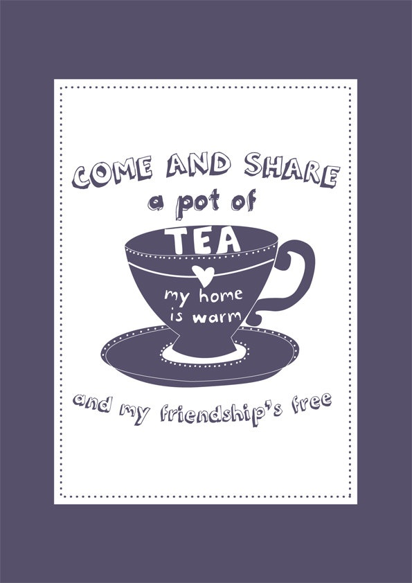 Friendship Tea Sayings : Quotes about friendship and tea quotesgram