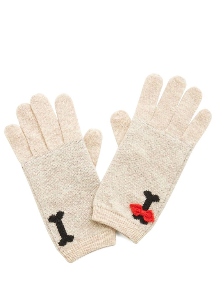 ModCloth On Your Bark, Get Pet, Go! Gloves