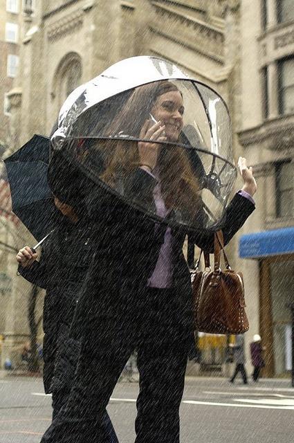 The Hands Free Umbrella