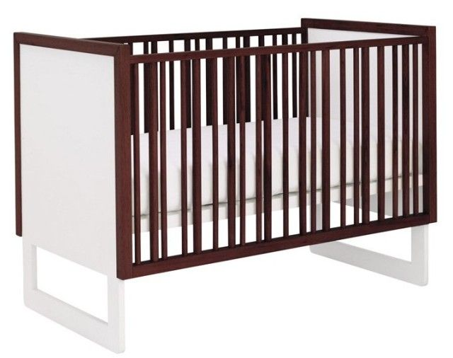 Modern, gender neutral crib from @Nursery Works