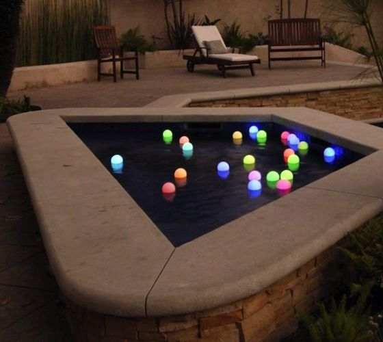 Mood Light Garden Deco Balls – $39