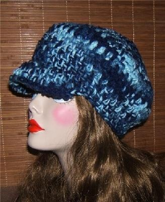 How to Crochet a Newsboy Hat | eHow