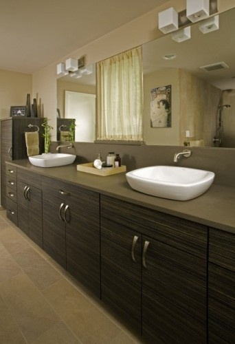 above counter bathroom sink Bathroom Redo Pinterest