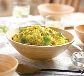 Lemon and cashew rice Healthy Food Guide Great with chickpea and ...