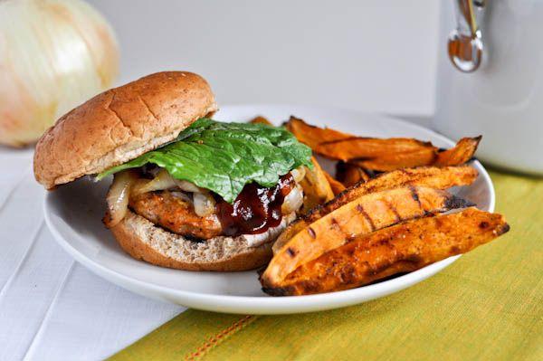 BBQ Chicken Burgers | Burger, Fries & Pizza | Pinterest