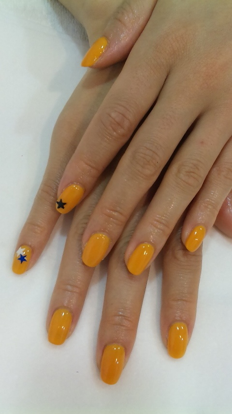 Dragonball subtle mani. Would have been better with red stars.