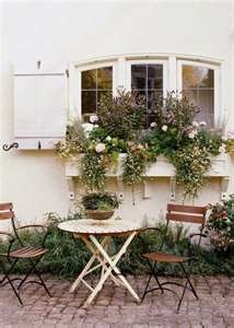 French Country Window Box Garden Style Pinterest