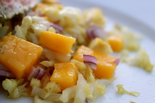 ... slaw with lime dressing mexican slaw with mango avocado cumin dressing